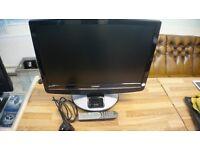 "Technika 22"" Inch Screen LCD TV / HD Ready DV3-T With l Phone Docking Port"