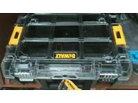 Dewalt tstak screw tray with tubs