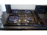Indesit gas hob, Model PIM 640 AS, Black, used but in good condition