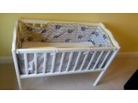 Baby crib for sale.