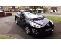 REDUCED PRICE Peugeot 308 Hdi Active, 1.6, 5 Dr, Low Mileage, Only £20 pa Road Tax £4500