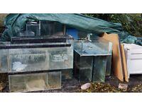 Massive amount of aquarium equipment 20+ tanks, coral trays, led lighting heaters skimmers lots more