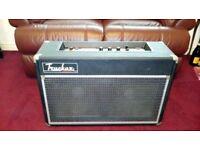 Custom Sound 2x12 Guitar Combo Amplifier.