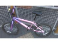 Bmx vibe. With trick nuts If needed. Good condition comes with helmet