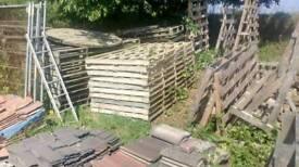 Double size pallets