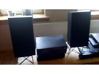 Bose speakers, Ariston AMP,Technics, Tape Deck, Pioneer FM/AM Tuner