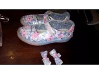Lelli Kelly floral shoes size 10 girls