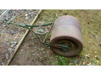 Victorian lawn roller
