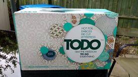 BRAND NEW IN BOX TODO MACHINE