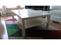 White IKEA Coffee Table For Sale. Great Condition. Pick up Only - Dennistoun