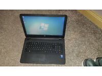 """HP 250 G4 laptop and case, immaculate condition, 4 mths old, 15.6"""", Intel i5, 500GB, Win 7 Pro"""