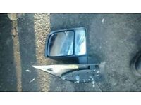 FORD TRANSIT CONNECT 2005 DRIVERS SIDE WING MIRROR IN GOOD USED CONDTION