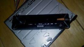 Sony head unit. 55wx4. Bluetooth. Mega bass.