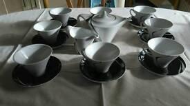 Debenham Jazz Tea Set