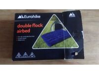 Eurohike double flock airbed + 4D Fusion Pump