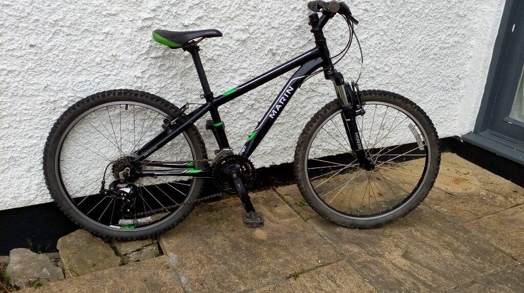 Boys Mountain Bike Marin Bayview Trail 24 Wheels In Oxford