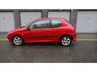***PEUGEOT 206 1.1 (MOT APRIL 2018) SERVICE HISTORY*** GUARANTEED MILEAGE