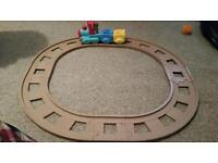 ELC happyland train track and train
