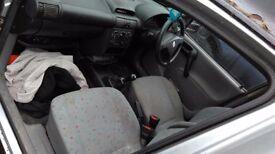 Vauxhall combo van 1.7 diesel van with mot until june