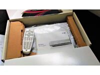BT Freeview HD TV Receiver Recorder With Remote Control Boxed With Instructions