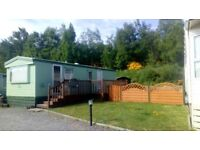 2 bed static caravan, fantastic location beautiful countryside.