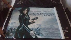 Underworld evolution cinema quad, mint condition