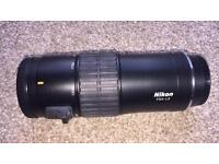 Nikon FSA-L2, Zoom lens for connecting Nikon DSLR Cameras to EDG fieldscopes / spotting scopes
