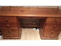 Bedroom Dressing Table with Drawers