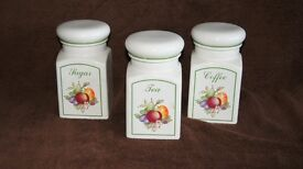 Set of Three Kitchen Caddies
