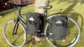 BICYCLE SIDE PANNIERS (pair) ALTURA ARRAN 36L As new