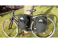 BICYCLE SIDE PANNIERS (pair) ALTURA ARRAN 36L As new