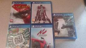 Cheapest Brand new sealed ps4 games