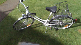 German women's bicycle in very good condition thanks for the insight