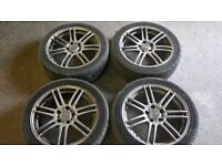 "Vauxhall Astra/Zafira/Vectra 17"" alloy wheels 5 x 110"