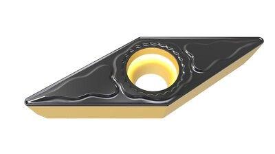 Vcmt221vcmt110304-md Carbide Turning Inserts Grade Pp6115cvd Coating 10 Pcs