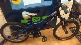 "Specialized alloy Hotrock 20"" Wheel Small Frame, grip shift 7 speed light weight bike kids"