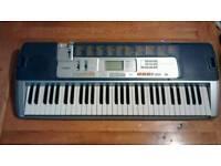Casio keyboard piano