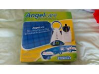 Angel monitor with night light and sensor pad