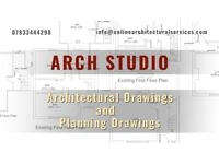 Architectural Services, Planning Permission Drawings, Change of use, Loft Conversion