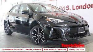 2017 Toyota Corolla SE  UPGRADE MOONROOF ALLOY WHEELS SAFETY SEN