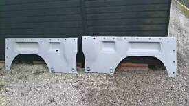 Renault traffic passenger bus lwb rear quarter wheel arch panels .