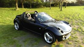 Black. Elec windows & targa hood. Air con. Heated leather. Paddleshift. Service hist. 1yrMOT