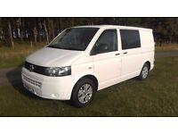 VW T5 Camper Van/Volkswagen Transporter Motor Home-102BHP-35K-FSH-Alloy wheels-New conversion