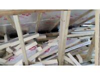 Small foam insulation offcuts