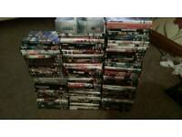 100 Dvds including some boxsets