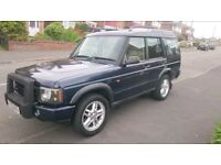 LANDROVER DISCOVERY 2 FACELIFT TD5 WITH 4 MONTHS MOT