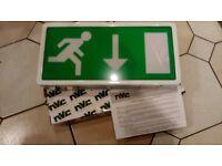 NVC Lexington Emergency Exit Sign - 3hr. Maintained