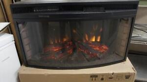 NEW ! ELECTRIC FIREPLACE STILL IN THE BOX  ( OK EXCEPT FOR THIS PICTURE ! )