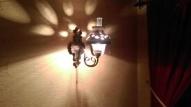 Antique Victorian style wall and ceiling lights