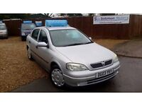 LOW MILEAGE VAUXHALL ASTRA 1.6 & NEW MOT AND WIDE UK WARRANTY INCLUDE ON SALE